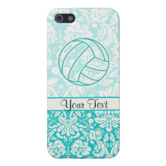 Volleyball; Cute Teal Case For iPhone 5
