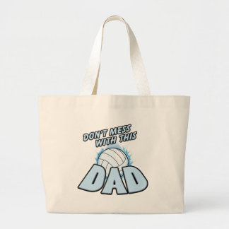 Volleyball Dad Canvas Bag