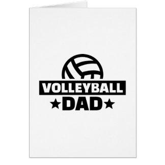 Volleyball dad card