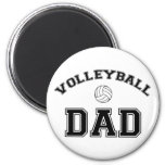 Volleyball Dad Fridge Magnets