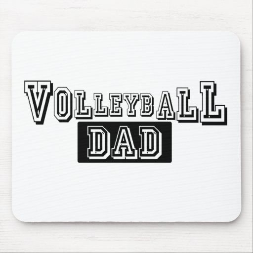 Volleyball Dad Mouse Pad