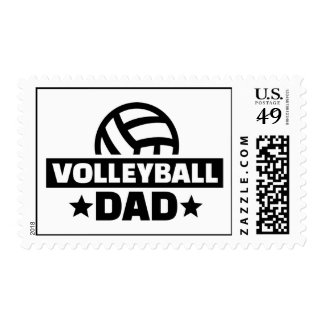 Volleyball dad postage