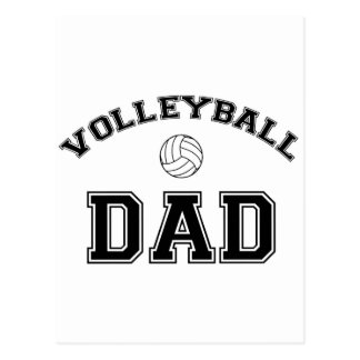 Volleyball Dad Post Cards