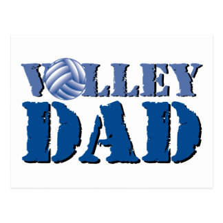 Volleyball Dad Postcard