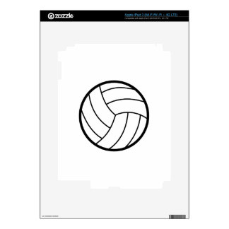 Volleyball Decal For iPad 3