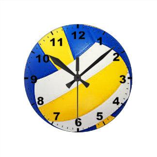 """Volleyball"" design wall clocks"