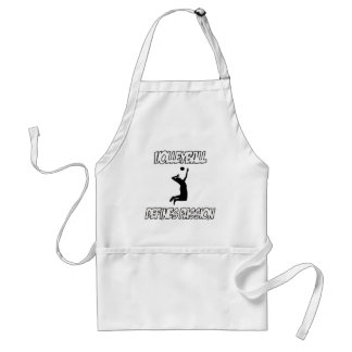 VOLLEYBALL designs Adult Apron