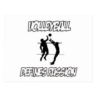 VOLLEYBALL designs Postcard