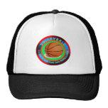 Volleyball designs trucker hats