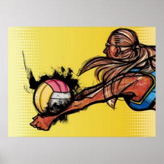 Volleyball DIGG Poster