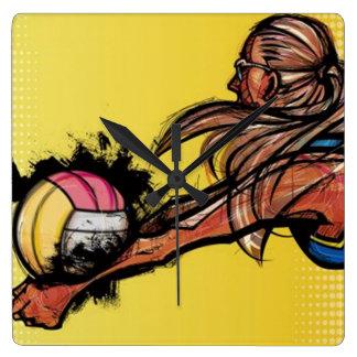 Volleyball DIGG - Wall Clock