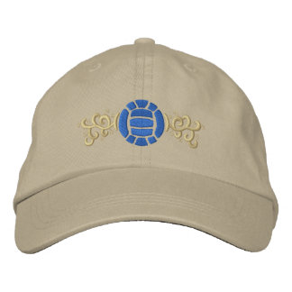Volleyball Embroidered Baseball Cap
