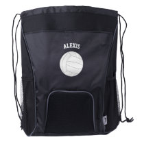 Volleyball Fan Drawstring Backpack