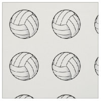 Volleyball Fan Fabric