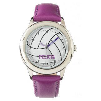 Volleyball Fan Wrist Watch