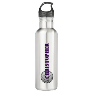 Volleyball for Longer Name Water Bottle