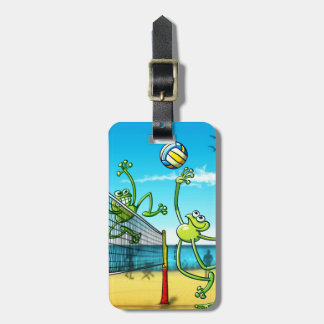 Volleyball Frog Bag Tag
