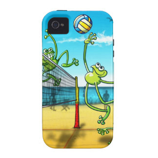 Volleyball Frog Vibe iPhone 4 Cover