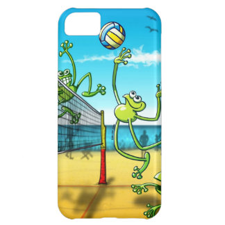 Volleyball Frog Cover For iPhone 5C