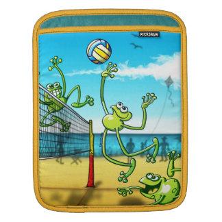 Volleyball Frog iPad Sleeve