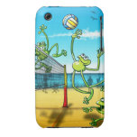 Volleyball Frog iPhone 3 Case-Mate Case