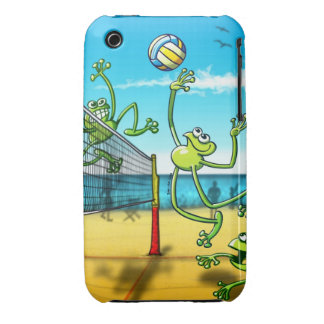 Volleyball Frog iPhone 3 Covers