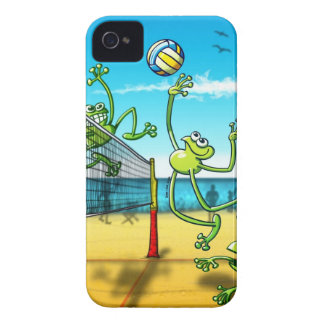 Volleyball Frog iPhone 4 Case-Mate Cases