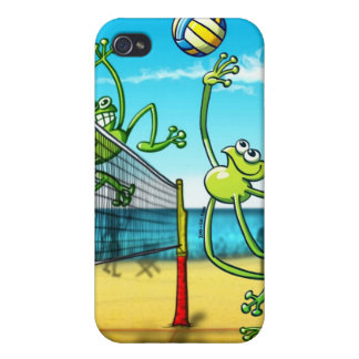 Volleyball Frog iPhone 4 Case