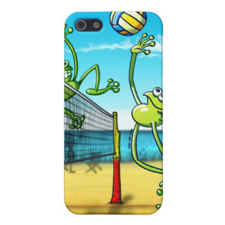Volleyball Frog iPhone SE/5/5s Cover