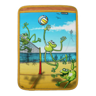 Volleyball Frog MacBook Air Sleeve
