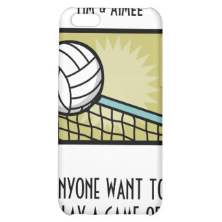 VOLLEYBALL GAME COVER FOR iPhone 5C