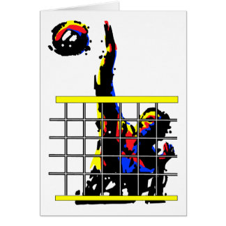 Volleyball Gift Greeting Cards