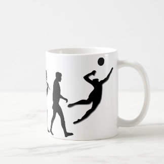 Volleyball Gift Classic White Coffee Mug