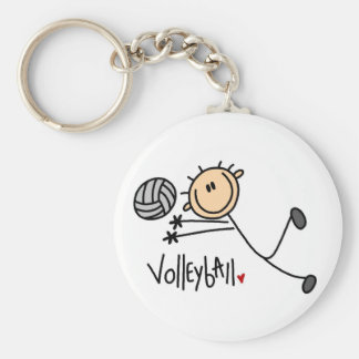 Volleyball Gift Keychain