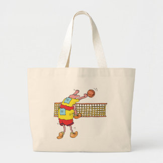 Volleyball Gift Large Tote Bag