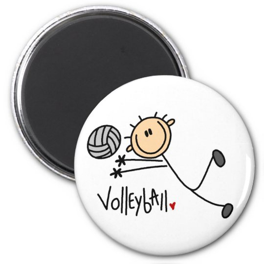 Volleyball Gift Magnet