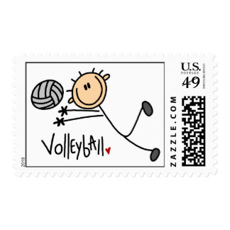 Volleyball Gift Stamp