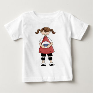 Volleyball Girl Baby T-Shirt