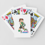 Volleyball Girl Bicycle Card Decks