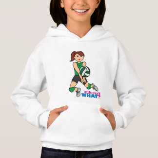 Volleyball Girl Hoodie