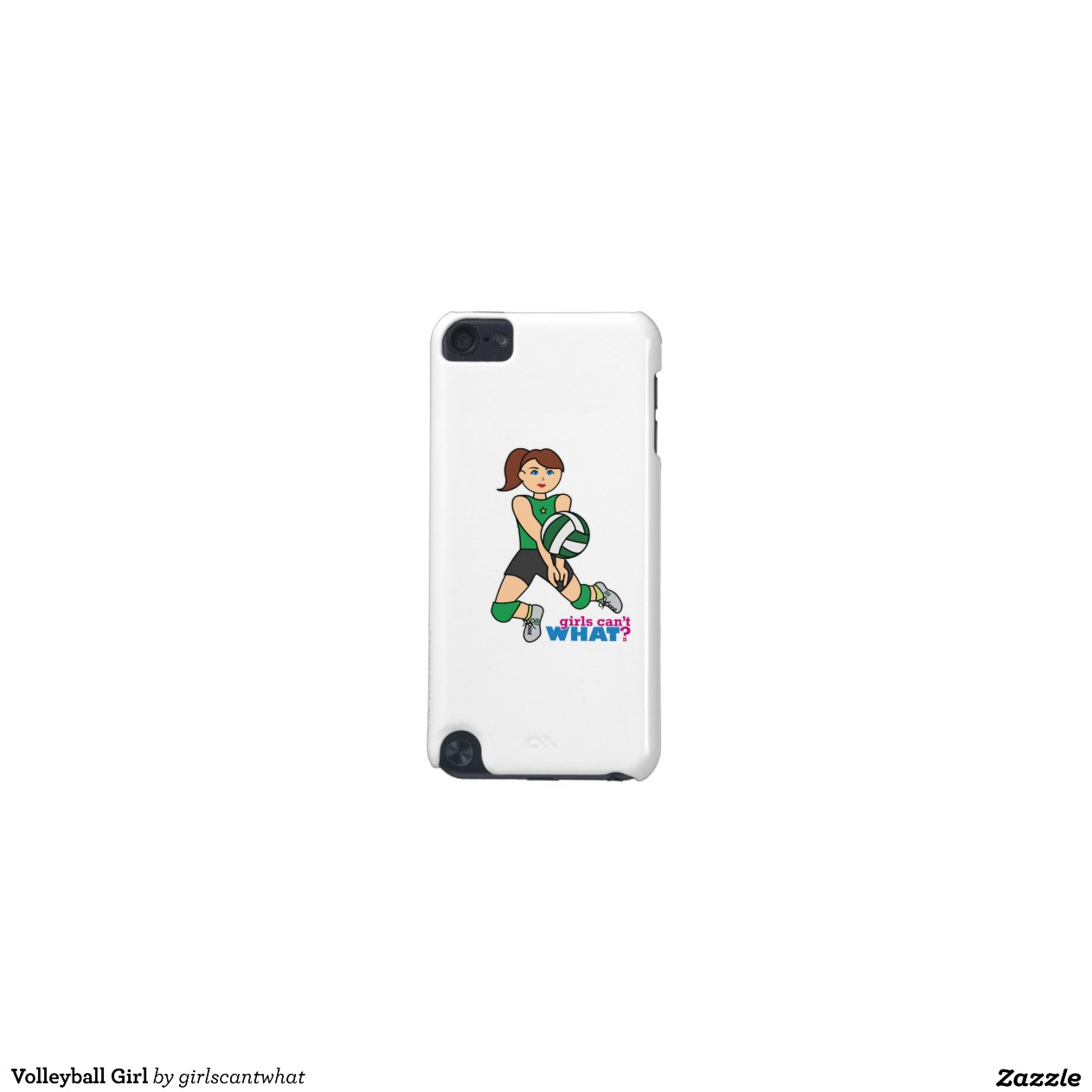 volleyball girl ipod touch  5th generation  cases