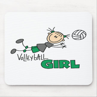 Volleyball Girl Mouse Mats