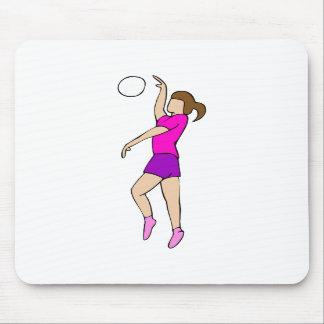 Volleyball Girl Mousepads