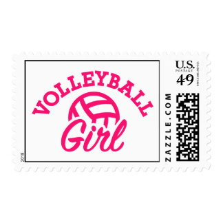 Volleyball girl postage