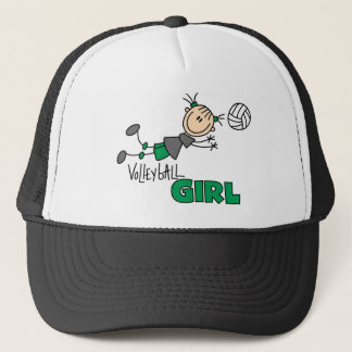 Volleyball Girl Trucker Hat