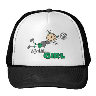 Volleyball Girl Trucker Hat
