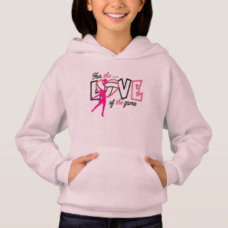 Volleyball GIRLS PINK HOODIE