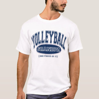 Volleyball Grandpa (AND PROUD OF IT) T-Shirt