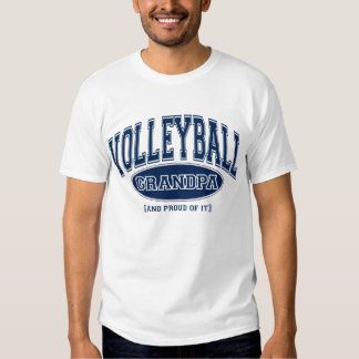 Volleyball Grandpa (AND PROUD OF IT) Tshirt