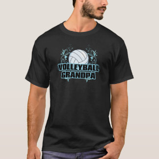 Volleyball Grandpa (cross).png T-Shirt